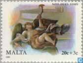 Briefmarken - Malta - Biblische Szenen