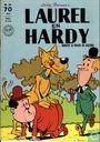 Strips - Laurel en Hardy - wacht u voor de hond