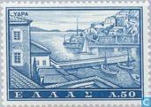 Timbres-poste - Grèce - Tourisme