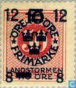 Postage Stamps - Sweden [SWE] - 8 12 # 10 # 50 + TIO red