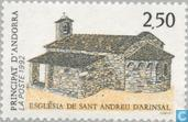 Postage Stamps - Andorra - French - Tourism