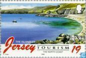 Timbres-poste - Jersey - Tourisme
