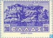 Postzegels - Griekenland - Landschappen