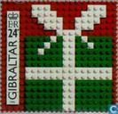 Mozaïek van Lego