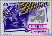 Postage Stamps - Spain [ESP] - Europe – Aerospace