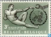 Timbres-poste - Belgique [BEL] - Droits de l'homme