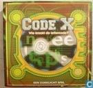 Code X  -  Wie kraakt de lettercode?
