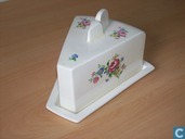 Céramique - Baudoin - Kaasstolp met bloemdessin