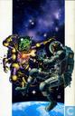 Comics - Martha Washington - Martha Washington stranded in space