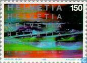 Postzegels - Zwitserland [CHE] - Bioscoop 100 jaar