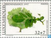 Postage Stamps - Luxembourg - Trees