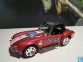 Voitures miniatures - Johnny Lightning - Shelby 427 Cobra 'Coca Cola'