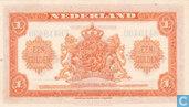 Bankbiljetten - Muntbiljet 1943 - 1 Gulden Nederland 1943