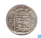 Coins - West Friesland - West-Friesland double weapon penny 1791