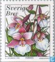 Postage Stamps - Sweden [SWE] - Orchids
