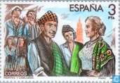 Postage Stamps - Spain [ESP] - Composers