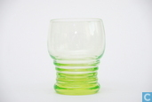 Glass / crystal - Kristalunie - 3185 met ringen Waterglas vert-chine 190 ml 82 mm