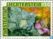 Briefmarken - Liechtenstein - Ackerbau