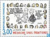 Postage Stamps - France [FRA] - Doctors without borders