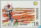 Postage Stamps - Spain [ESP] - Literature