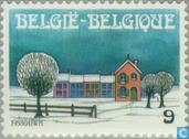 Briefmarken - Belgien [BEL] - Weihnachten u. Neues Jahr