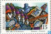 Postzegels - België [BEL] - Folklore