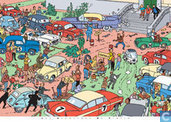 Affiches et posters - Bandes dessinées - Rallye