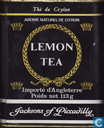 Boîtes en métal - Jacksons of Piccadilly - Lemon