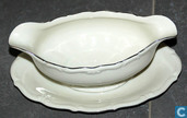 Ceramics - Sauce boat - oude sauskom