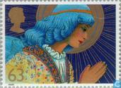 Postage Stamps - Great Britain [GBR] - Christmas-Angels
