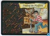 Trading cards - Harry Potter 4) Adventures at Hogwarts - Finding the Platform