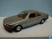 Voitures miniatures - Bburago - Mercedes-Benz 500 SEC