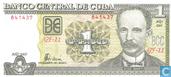 Bankbiljetten - Banco Central de Cuba - Cuba 1 Peso