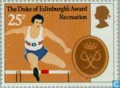 Postage Stamps - Great Britain [GBR] - Duke of Ediburgh Award 25 years