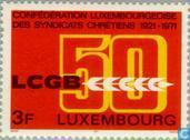 Postage Stamps - Luxembourg - Union LCGB