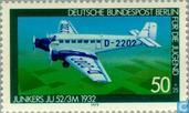 Postage Stamps - Berlin - Aviation