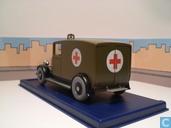 """Voitures miniatures - Atlas - De ziekenauto van Chicago uit """"Kuifje in Amerika"""""""