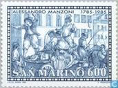 Briefmarken - San Marino - Manzoni, Alessandro
