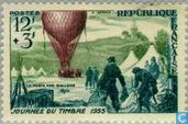 Postage Stamps - France [FRA] - Balloon