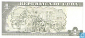 Billets de banque - Banco Central de Cuba - Peso Cuba 1