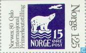 Postage Stamps - Norway - 125 gray / violet