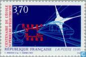 Postage Stamps - France [FRA] - Electrical engineering college