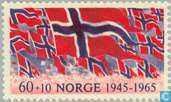 Postage Stamps - Norway - 60 10 red