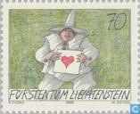 Clown Liebesbrief