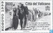 Postage Stamps - Vatican City - Kosovo War Victims