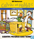 "Strips - Casper en Hobbes - Scientific Progress Goes ""Boink"""