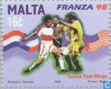 Postage Stamps - Malta - World Cup Soccer