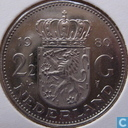 Coins - the Netherlands - Netherlands 2½ gulden 1980