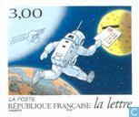 Timbres-poste - France [FRA] - Histoire de la lettre