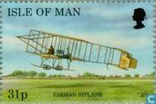 Briefmarken - Man - Aircraft